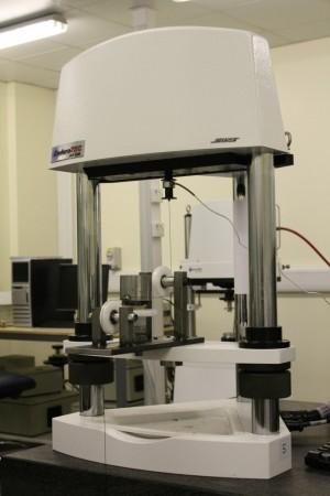 Testing rig on Bose ElectroForce